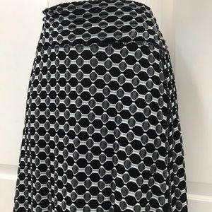 3 for $20-Women's Black/Gray Coin 1804 Long SkirtM